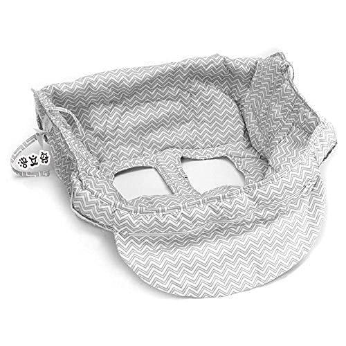 Cubiertas de compras para bebé plegable Protección Poliéster Infantil Silla de comedor...