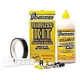 Team 17 X-Sauce Kit TUBELESS MTB V. Fina - Cinta Negra 25mm.