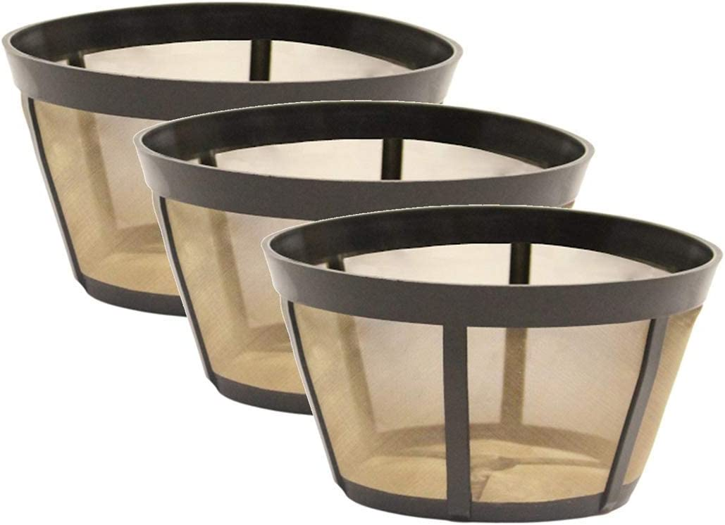 Our shop Weekly update most popular 3 Pack GoldTone Reusable Basket Coffee Fits Filter BUNN