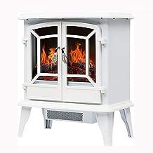 XHHWZB 3D Chimenea eléctrica Estufa - Calentador de Espacios de Interior portátil