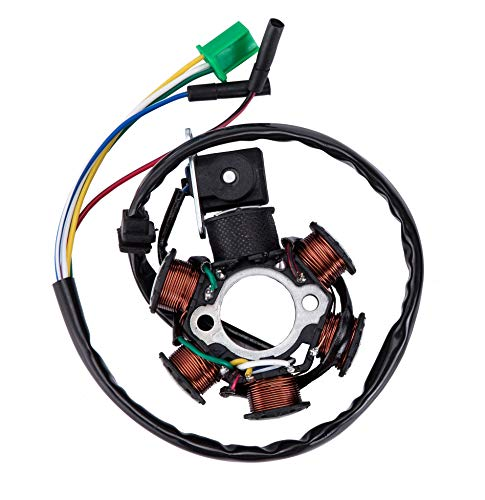 Hity Motor Ignition Stator Magneto DC 6 Pole Coil For GY6 Scooter Moped 150cc