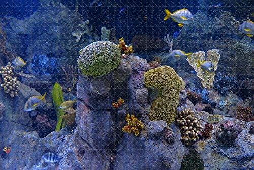 USA America Gatlinburg Ripleys Aquarium des Smokies-Puzzles für Erwachsene 1000-teilige hölzerne Puzzles für Erwachsene