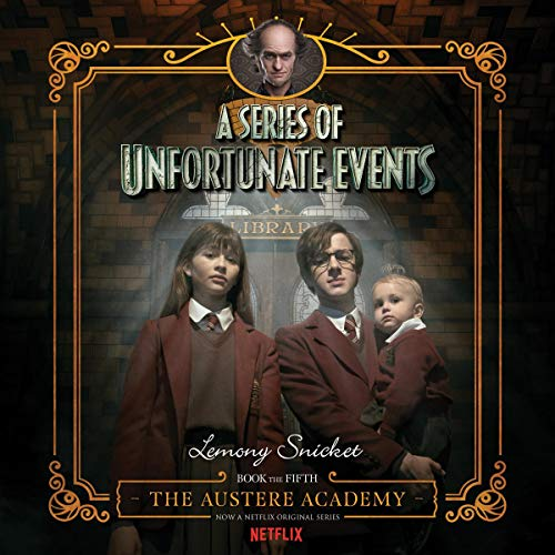 The Austere Academy audiobook cover art