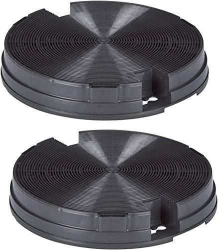 Spares2go Kohlefilter für Whirlpool Dunstabzugshaube, 2 Stück 195m x 33mm