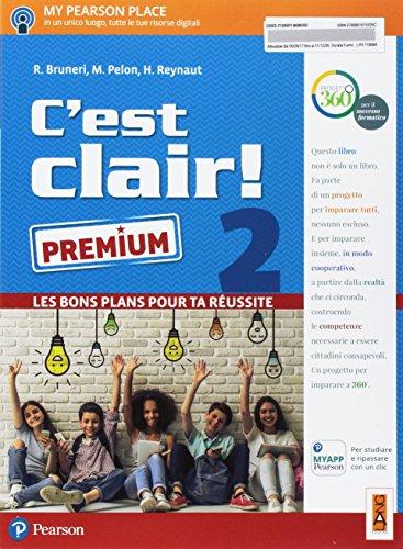 C'est clair! Les bons plans pour ta réussite. Ediz. premium. Per la Scuola media. Con e-book. Con espansione online [Lingua francese]: Vol. 2