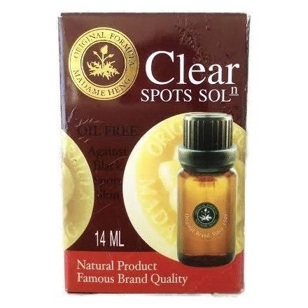 Best Natural Whitening & Lightening Skin With Clear Spots Solution, Dark Spots+Blemishes+Freckle Remover, 14ml.
