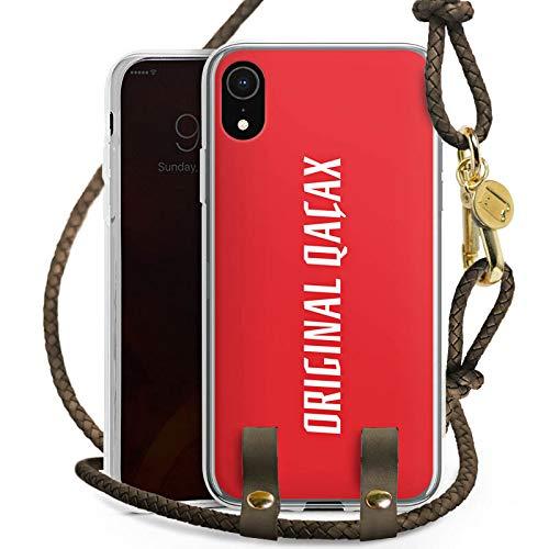 DeinDesign Apple iPhone Xr Carry Case Hülle zum Umhängen Handyhülle mit Kette Xatar Fan Article Merchandise Fanartikel Merchandise