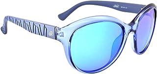 Retro Sunglasses For Women - Blue, Re195C5, Cat Eye Frame