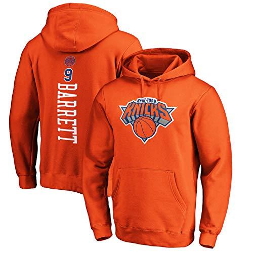 PSZH RJ Barrett - Sudadera con capucha para hombre, diseño de New York Knicks