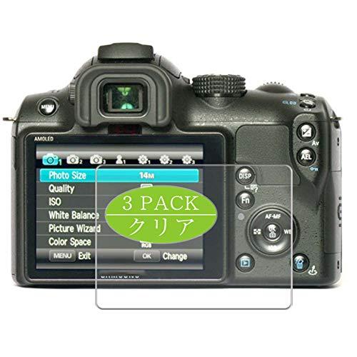 VacFun 3 Piezas HD Claro Protector de Pantalla Compatible con Samsung NX10 Digital Camera, Screen Protector Sin Burbujas Película Protectora (Not Cristal Templado) New Version