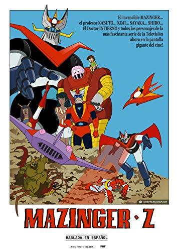 TTXD Puzzle 1000 Piezas Adultos,Mazinger Z,Puzzle Rompecabezas para Niños, Juguete Educativo de Regalo, Divertido Juego Familiar para Adolescentes, Regalos 70x50cm
