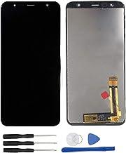 soliocial Asamblea Pantalla LCD Pantalla Táctil Vidrio para Galaxy J4+ 2018 / J4 Plus 2018 SM-J415 J415G J415GN J415F J415FN/DS 6.0 Inch Negro