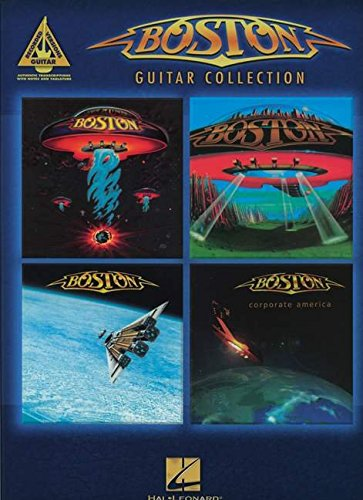 Guitar Recorded Versions Boston Guitar Collection Tab