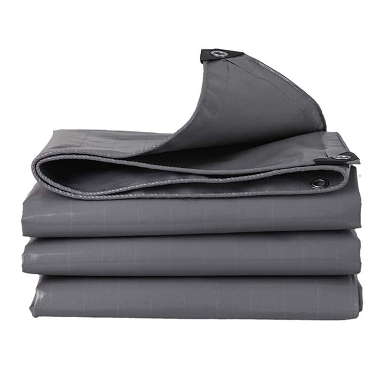 学期出費過剰HPLL 多目的防水シート ヘビーデューティタープターポリン厚手 - 防雨シェードオックスフォードキャンバス、600g /m2、グレー用ナイフスクレーピングクロス防水日焼け止めリノリウム 防水シートのプラスチック布,防雨布 (Size : 2m×3m)