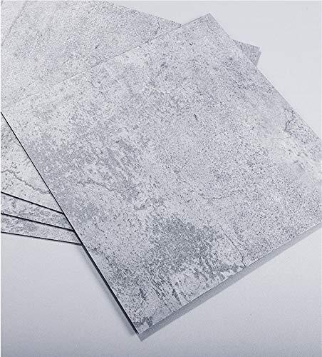 PVC Bodenbelag Betonoptik, wasserfest Bodenbelag, Rutschfest Bodenbelag, Wandbelag Anti-Schimmel, mit Riss Muster