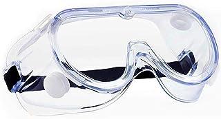Gafas protectoras contra salpicaduras, prevención de caída