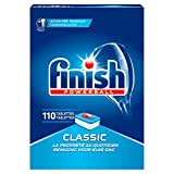 Finish Classic Dishwasher Tablets 110 Pieces -Pack Size 4