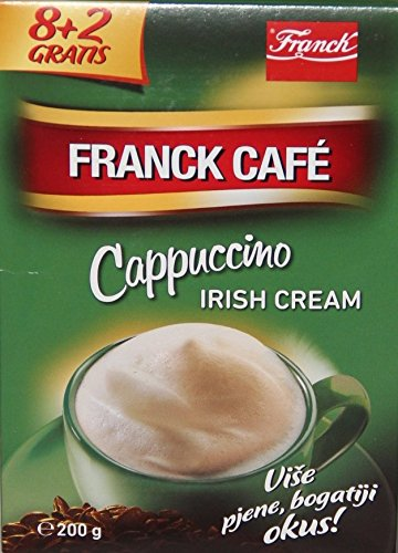 Franck Cafe Instant Cappuccino Irish Cream 160g (8x20g)