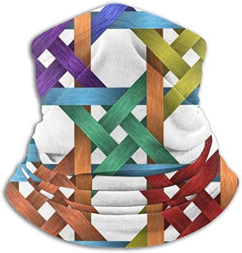 xiangyan11 3D Knoten Unisex Mikrofaser Halswärmer Kopfbedeckung Gesicht Schal Maske Für Winter Kaltwetter Maske Bandana Sturmhaube