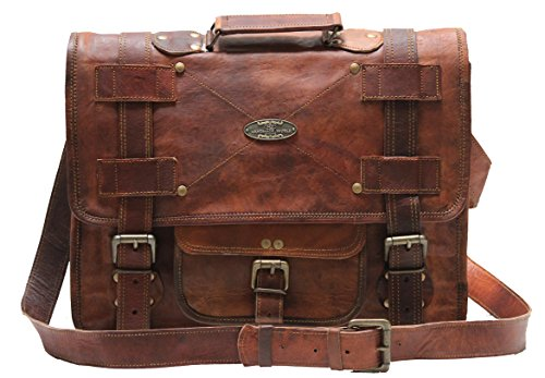 Handmade World Leather Messenger Bags...