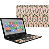 MightySkins Skin Compatible with HP 15t Laptop 15.6' (2017) - Cactus Garden | Protective, Durable, and Unique Vinyl Decal wrap Cover | Easy to Apply, Remove, and Change Styles | Made in The USA