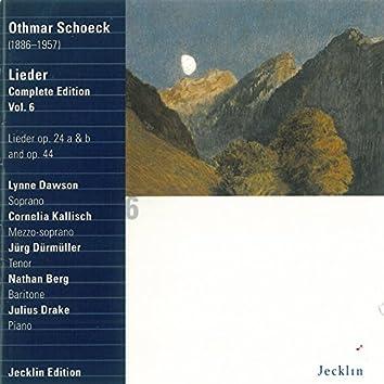 Othmar Schoeck: Lieder - Complete Edition, Vol. 6