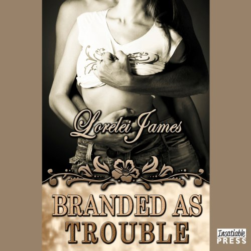Branded as Trouble audiobook cover art
