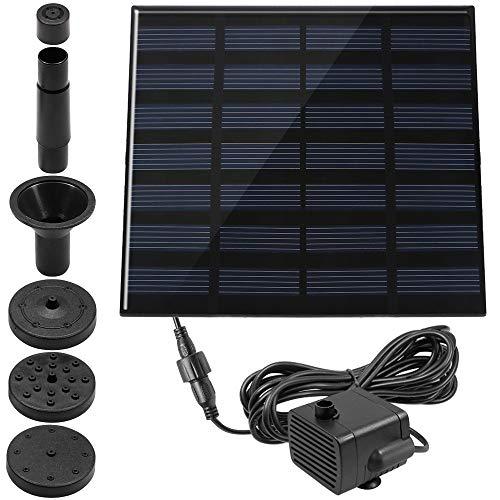 1.4 W pileta fuente, maxin potencia bomba Panel Kit sumergible agua bomba de agua Solar para aves baño, pecera, estanque, decoración del jardín.