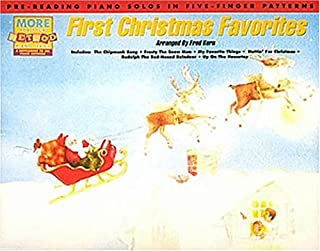 First Christmas Favorites: Pre-Reading Piano Solos in Five-Finger Patterns