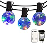 Led String Lights Outdoor - IELECMG 34.4 FT G40 Patio String Lights 32...