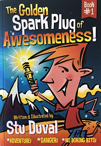 The Golden Spark Plug of Awesomeness! (The Adventures of Louis Light-Saber Book 1) (English Edition)