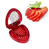 ZRAMO Accessories Simply Slice Strawberry Section Slicer Kitchen Cutter Gadgets Kitchen Tool Mini Slicer Cut Joie MSC Stainless Steel Blade Craft Fruit Tools Factory kiss