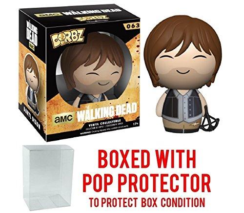 Funko Dorbz: Walking Dead - Daryl Dixon Vinyl Figure (Bundled with Pop BOX PROTECTOR CASE)