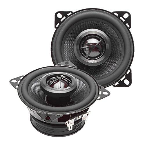 """Skar Audio TX4 4"""" 120W 2-Way Elite Coaxial Car Speakers, Pair"""