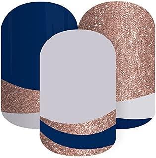 Jamberry Nail Wrap ✮ Copper Sea ✮ 1/2 Sheet ✮ (Plus Free Bonus Sample Sheet)