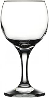 Pasabahce Bistro Semi-Mini Wine and Champagne Glasses 6 Pieces - 7.5 Oz Each