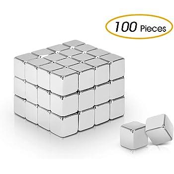 16pezzi magneti cubo al neodimio set extra forte magneti cubo per lavagne magnetiche in vetro bacheca frigo lavagna per appunti lavagna per appunti mappa per insegnante di scuola ufficio 10x10x10mm