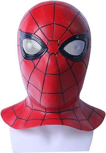 venta al por mayor barato GIFT ZHIZHUXIA Avengers 3 Spiderman Spiderman Spiderman Mask Halloween Props Cosplay Traje Body Spiderman Oficial ( Color   Darkrojo , Talla   53cm-60cm )  minorista de fitness