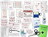 Komplett-Set Erste-Hilfe DIN 13157 EN 13 157 PLUS 2 für Betriebe mit Antisept-Hygiene-Spray, Notfallbeatmungshilfe & Verbandbuch incl.Alkoholtupfer + Pinzette