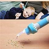 KRY Detergente per le orecchie, Aspiratore per cera sotto vuoto con aspiratore elettrico, Kit di estrazione cerume automatico per bambini, Adulti