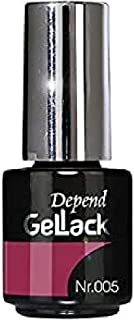 Depend GelLack - Esmalte permanente tono Raspberry Red