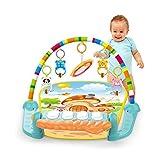 Cartup Play Gym for Babies, Kick & Play Musical Keyboard Mat, Piano Ba