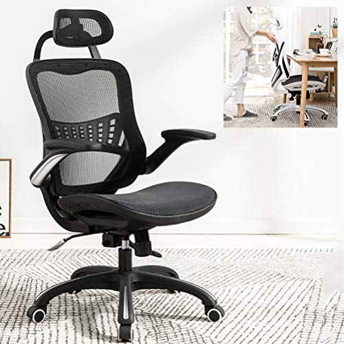 ZEIYUQI Escritorio Acceso para sillas de Respaldo Alto con Silla de Trabajo...