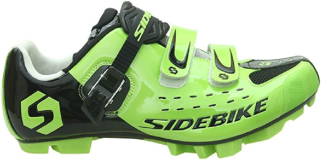 Zapatillas para ciclismo BTT, profesionales, transpirables, para hombre y mujer, compatibles con pedales SPD