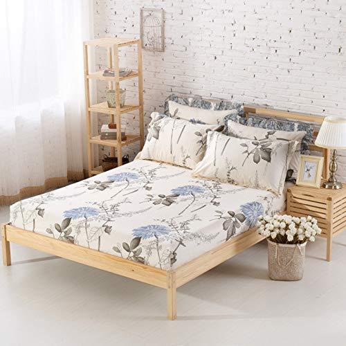 huyiming Gebruikt voor Single product, bed cover effen kleur katoen twill matras cover
