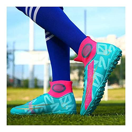 YXIAOL Zapatos Fútbol Hombres High Top Studs Zapatos Entrenamiento Zapatos Fútbol Profesional Deportes Al Aire Libre Zapatos De Fútbol Unisex VIIPOO,#10-35