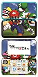 New Super Mario Bros Game Skin for New Nintendo 2DS XL Console 100% Satisfaction Guarantee!