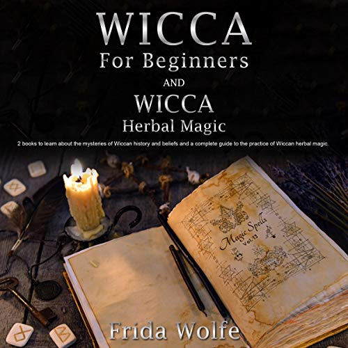 Wicca for Beginners and Wicca Herbal Magic cover art