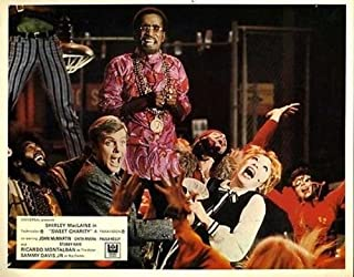 Shirley Maclaine Sammy Davis Jr. Sweet Charity British 8x10
