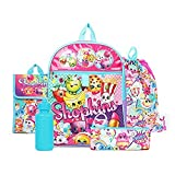 Shopkins Rainbow Backpack Back to School 5 Piece Essentials Set